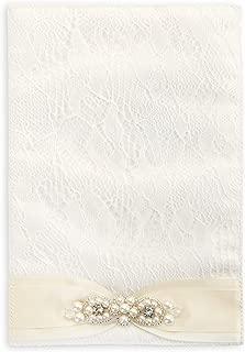David Tutera Bouquet Wrap - Cream Pearl