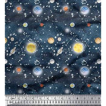Soimoi tissu Planet Galaxy imprimer tissu au mètre-GX-9B
