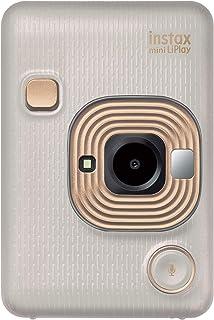 Fujifilm Instax LiPlay - Color Beige y Dorado