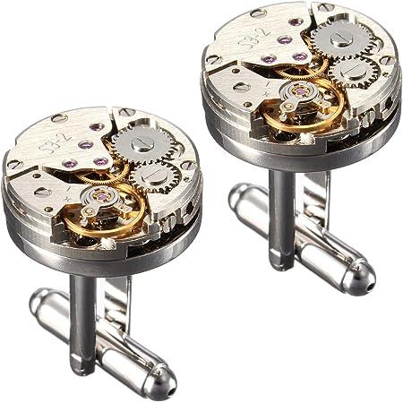 BABAN Gemelli Movimento Dell'orologio 2pcs movimento retro orologio Regalo Ideale(con una bella scatola)