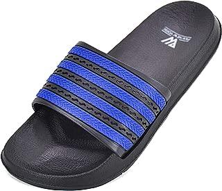 Lifekit Women's Slide Sandals Adjustable Anti-Slip Bath Shower Pool Summer Slippers Home Indoor Outdoor Quick Drying Shoes