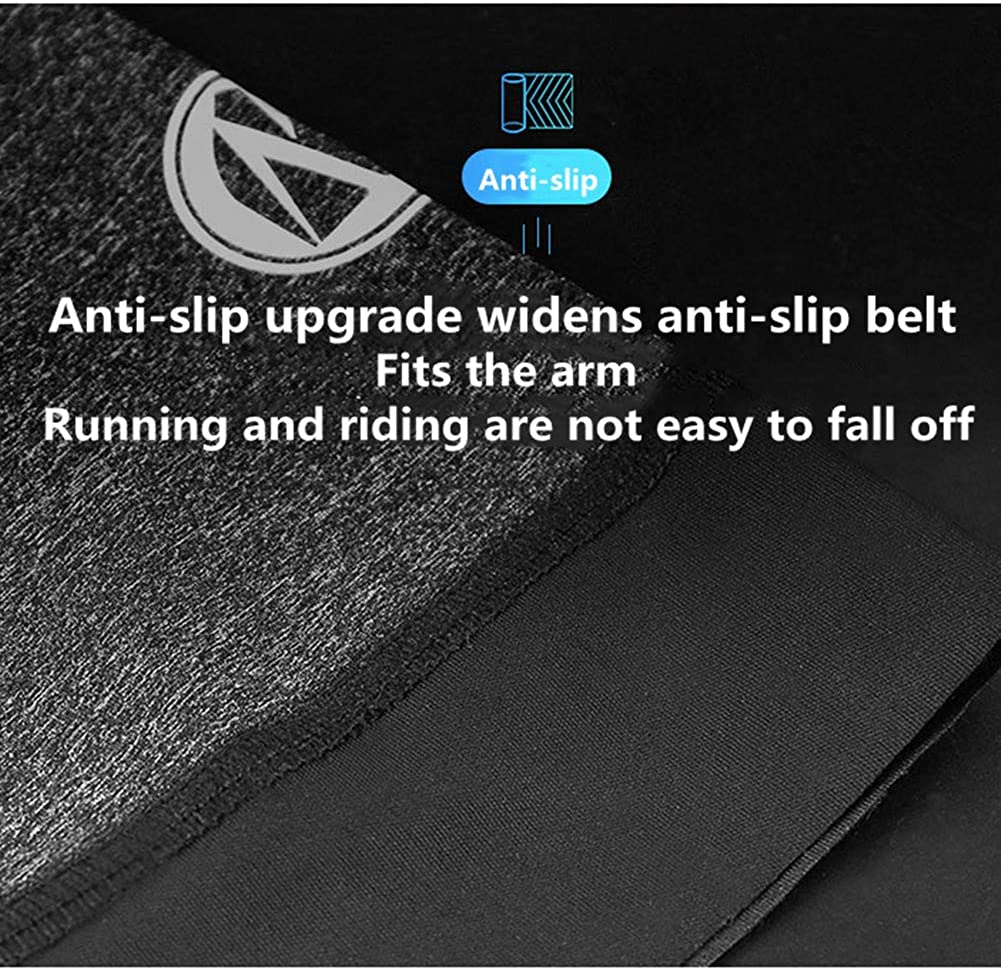 Ice Silk Anti-UV Arm Cover Breathable Sun Protection Arm Cover Summer Sports Driving and Riding Sun Protection Men and Women 1 Pair Arm Sleeves