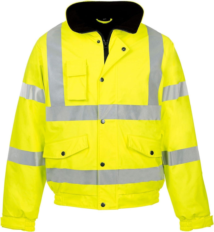 Forever Mens Rainsuit Hi Viz Jacket Max 88% OFF Waterproof Workwear Se Sale Storm