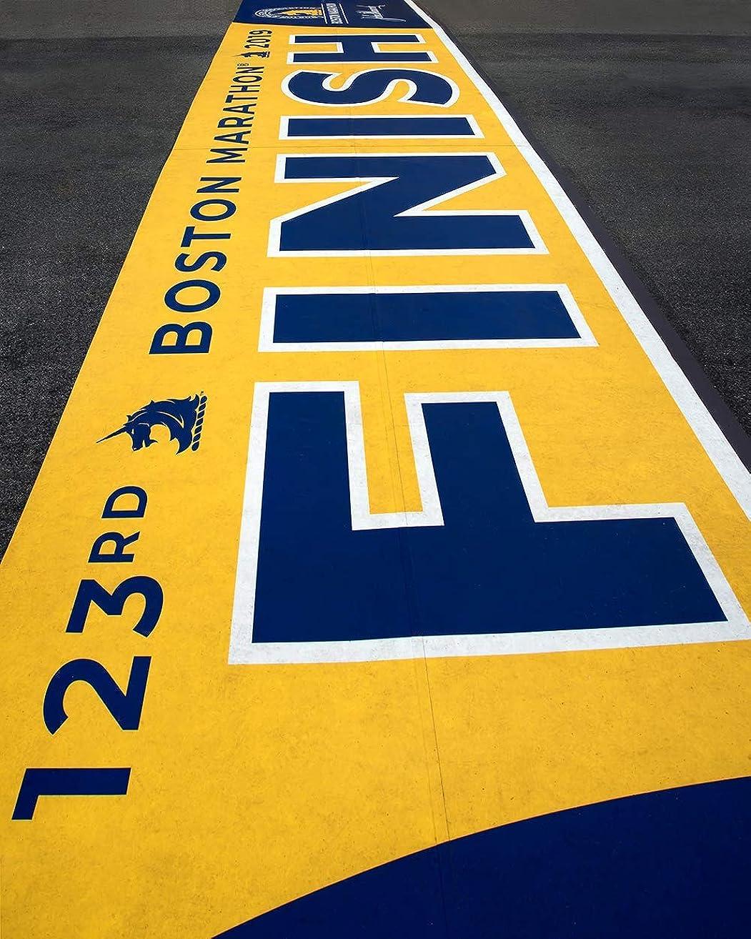 2019 Boston Marathon Finish Line, Marathon Finish Line, Gifts For Runners, Choose Print or Canvas