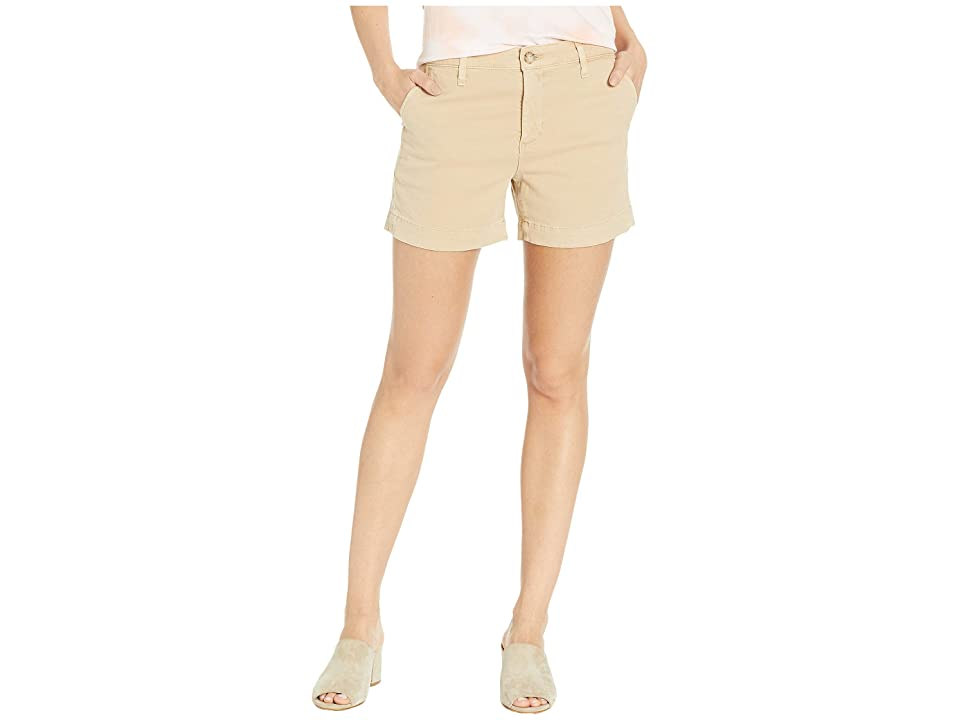 Image of AG Adriano Goldschmied Caden Shorts (Sulfur Fresh Sand) Women's Shorts