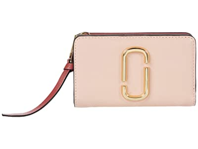Marc Jacobs Snapshot Compact Wallet (New Rose Multi) Wallet Handbags