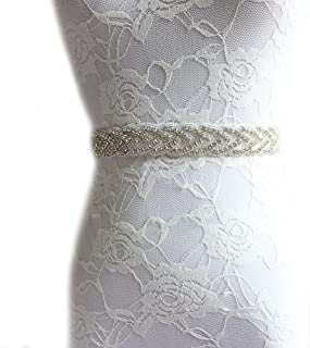 4e2eb366ecf XY Fancy Handmade Bridal Rhinestone Sash Chic Wedding Bride Sash Belts With  Ribbon Purple