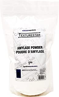 Texturestar Premium Amylase Powder, 1Kg (2.2lbs)   All-Natural, Used For Breadmaking, Home-Brewing and Making Liquor