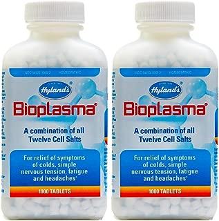 Hyland's Bioplasma Tablets, 1000 Tablets (Pack of 2)