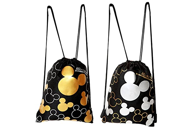 039450c34a4 Disney Mickey Mouse Drawstring Backpack 2 Pack