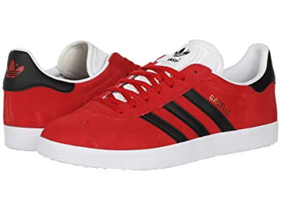 adidas Originals Gazelle (Scarlet/Black/White) Men