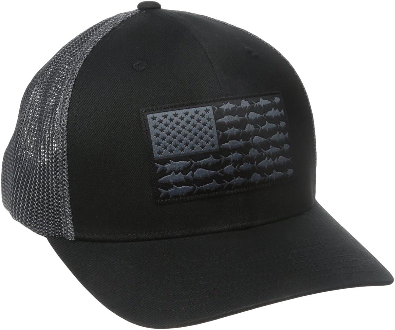 Columbia Men's PFG Mesh Ball Cap, Quick Drying
