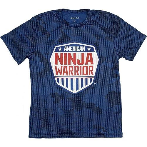 c6f7039bab45 American Ninja Warrior Kids Camo Short Sleeve Performance T-Shirt