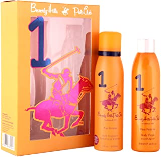 Beverly Hills Polo Club Gift Set 1 for Women (Deodorant and Body Wash)