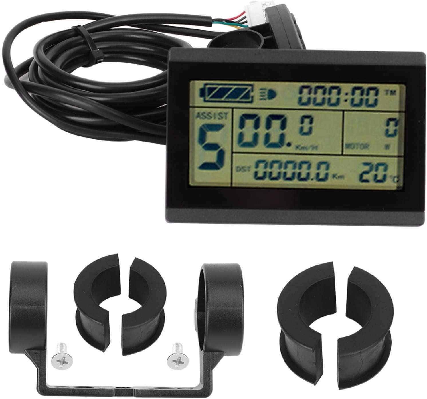Deror E‑Bike LCD Instrument KT‑LCD3U Free shipping anywhere Limited time trial price in the nation Bike H Conversion