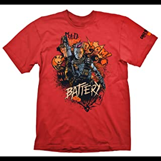 """T-Shirt (L) Call Of Duty: Black Ops 4 """"Battery Red"""""""