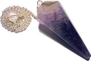 Péndulo Rediestesia (Piedra Preciosa / Gema) Ametista Aventurina Cuarzo y otros (Ametista)