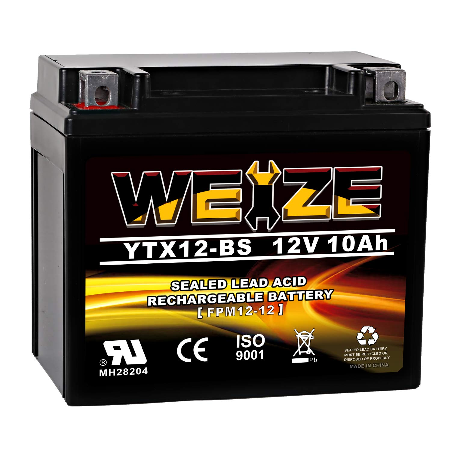 Weize YTX12 BS Motorcycle Battery Performance