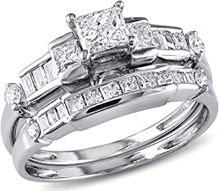 Best white gold big diamond engagement rings Reviews