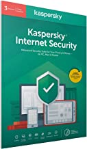 Kaspersky Internet Security 2020 | 3 Devices | 1 Year | Antivirus and Secure VPN Included | PC/Mac/Android | Activation Co...