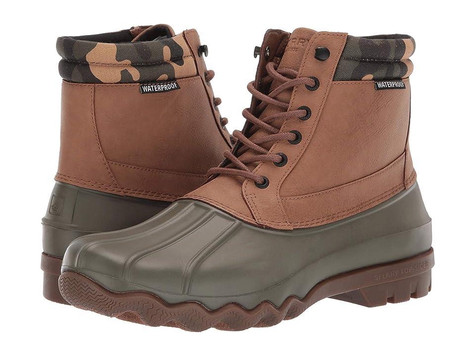 Sperry Brewster Boot (Tan/Camo) Men