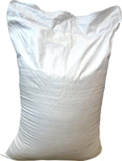 VRYSAC - Saco rafia escombros 55x85 cm, blanco. Paquete de