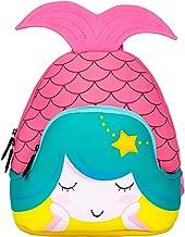 Moonmo Toddler Kids Waterproof Pre School Bag Cute 3D Animal Children School Backpack (Mermaid Pink)