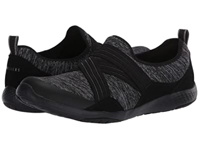 SKECHERS Lolow Too Quickly (Black Charcoal) Women