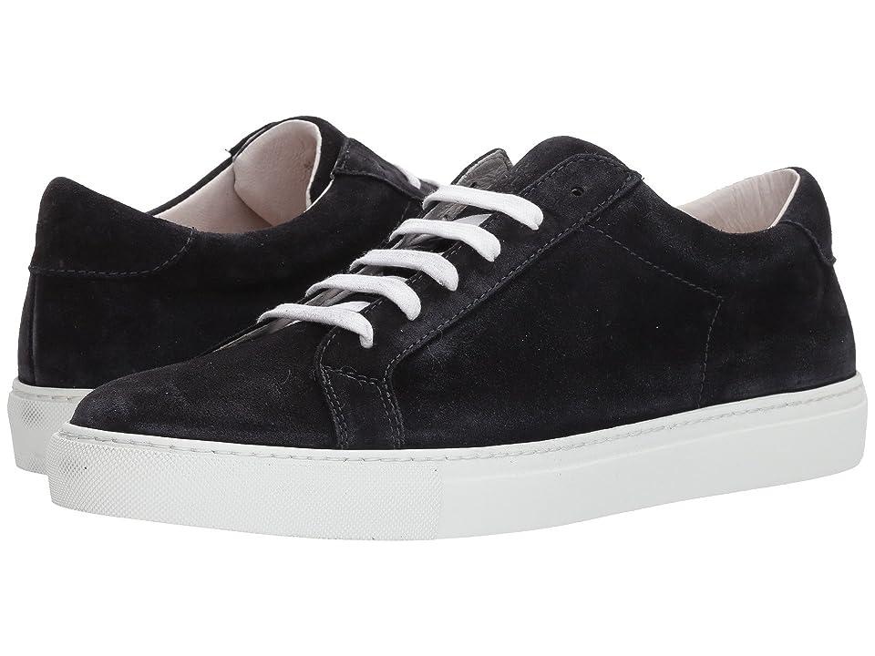 eleventy Suede Sneaker (Navy) Men