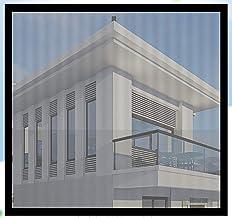 BASHI Universele raambescherming Netting, eenvoudige installatie, praktische raamgaas zonder boren, scheurbestendig PVC gl...