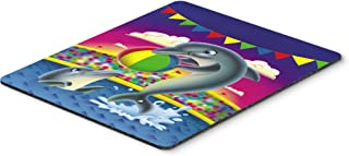 Caroline's Treasures APH0417MP Dolphins Performing for The Crowds Mouse Pad, Hot Pad or Trivet, Large, Multicolor