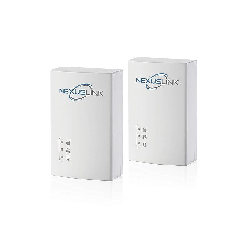 NexusLink Powerline G.hn Powerline Adapter   1200Mbps   2-Unit Kit (GPL-1200-KIT)
