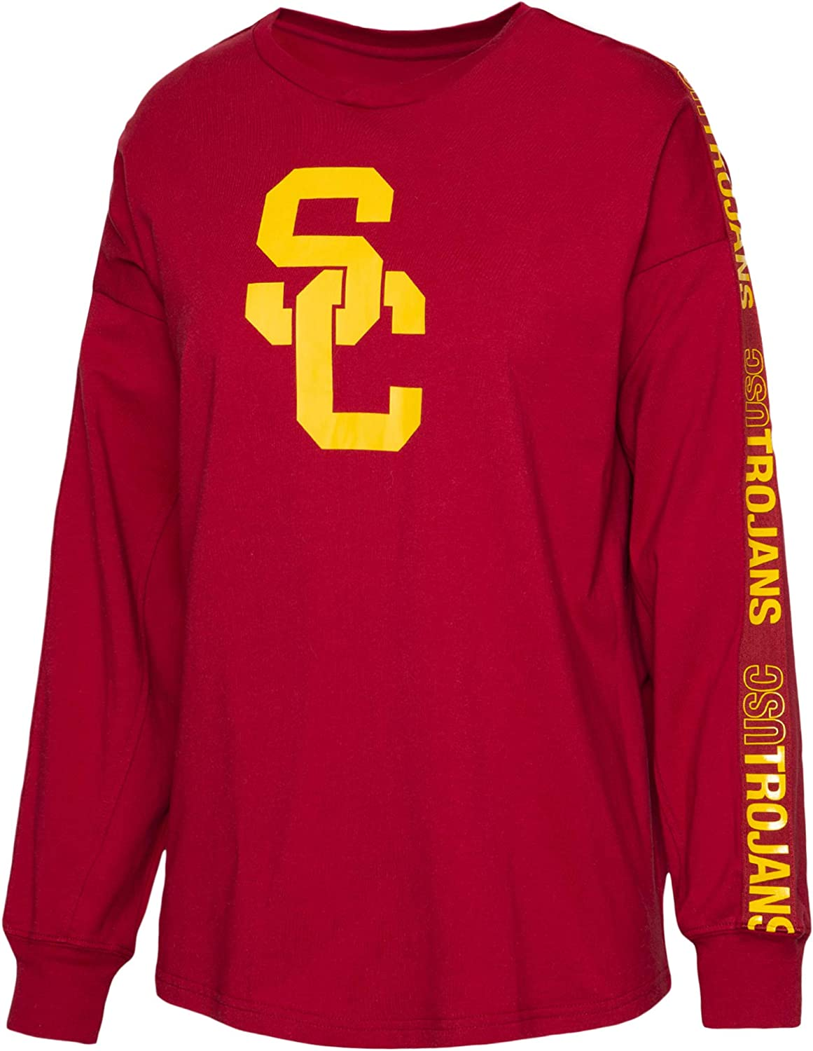 University of Southern California Authentic Apparel NCAA Womens University of Southern California Jaiden Long Sleeve Tee