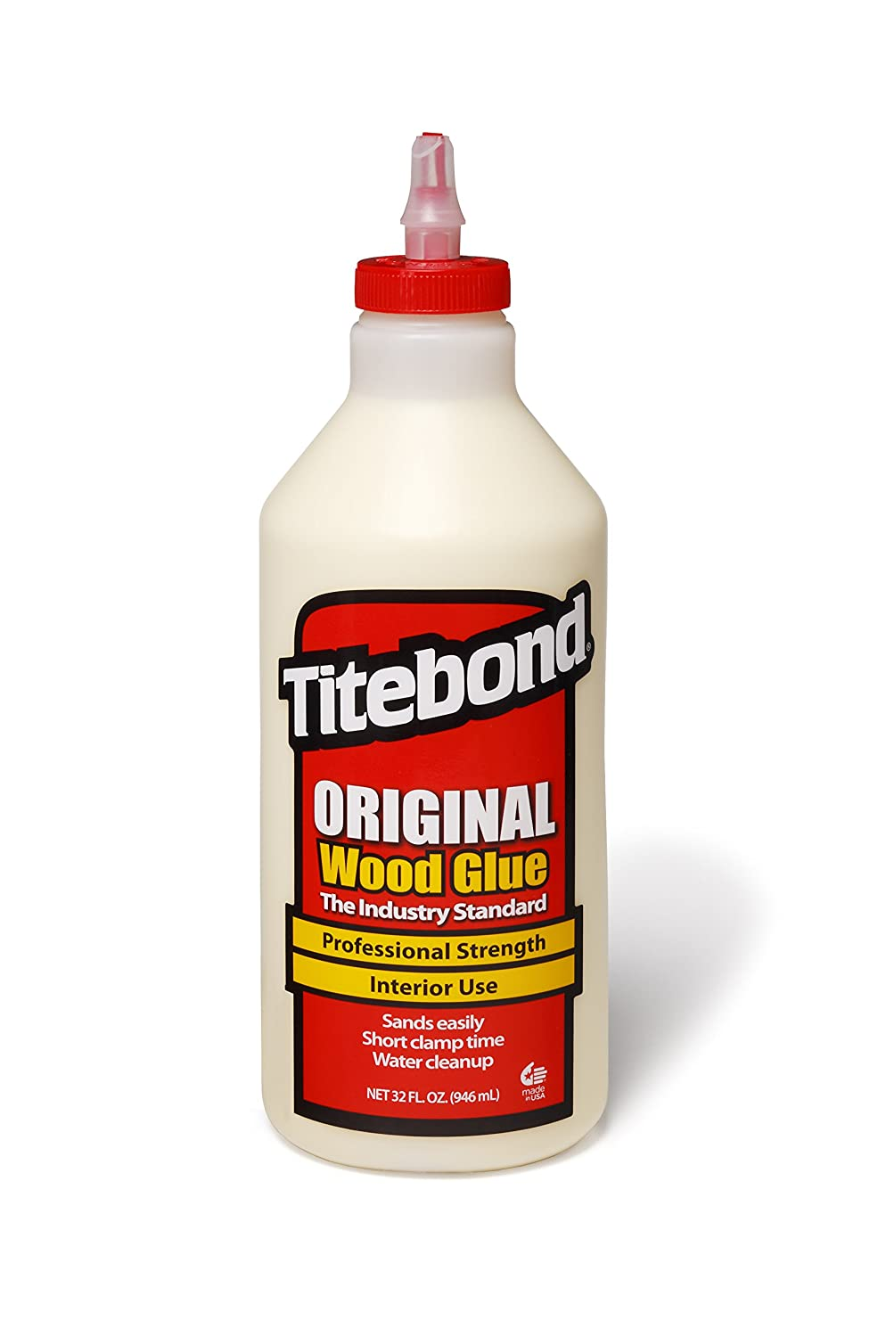 Titebond Original Wood Glue, 1-Quart #5065 qr948234009861