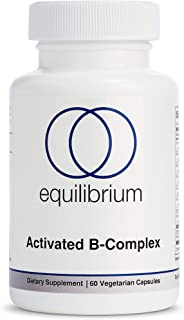 Activated Vitamin B Complex | for Energy, Mood and Stress Support | Methylated B Complex Vitamins | MTHFR | B12, B6, Folat...