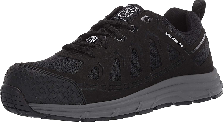 Skechers Men's Malad Comp Shoe Toe Direct sale of manufacturer Industrial OFFicial mail order