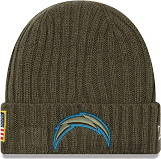 new products d9235 93eef New Era Hat Los Angeles Chargers Salute to Service NFL On field Headwear  Knit