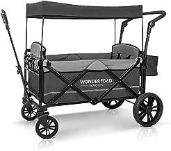 WonderFold Baby 2-Passenger Stroller Wagon, Gray