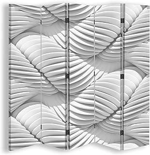 F FEEBY WALL DECOR Paravento divisorio Tramonto 5 Parti bilaterale Paesaggio Multicolore 180x175 cm