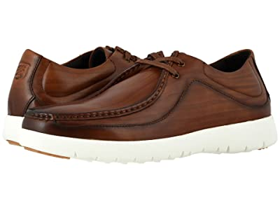 Stacy Adams Hanley Moc Toe Sneaker (Cognac) Men
