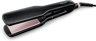 Philips HP8325/10 - Essential Care İyonik Geniş Seramik Plakalı Saç Düzleştirici, Siyah