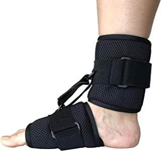 Foot Drop Brace & Ankle Foot Orthosis Support, Adjustable AFO Splint & Ankle Stability for Foot Pain Relief, Day & Night Dorsal Splint for Left Right Foot