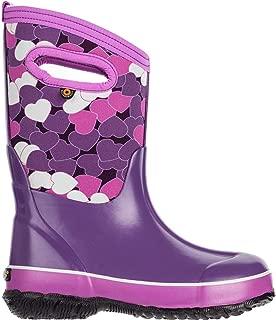 Bogs Kids Baby Girl's Classic Design a Boot (Toddler/Little Kid/Big Kid) Purple Multi 6 M US Big Kid