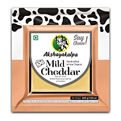 Akshayakalpa Organic Mild Cheddar, 200g