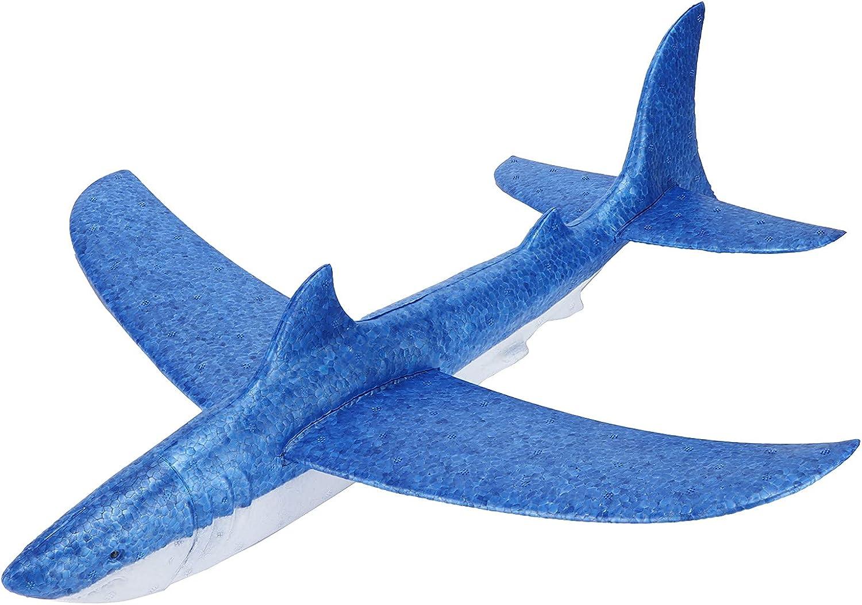 Bnineteenteam Soft half EPP 5 ☆ very popular Foam Airplanes Streamlined Blue Toy Airp