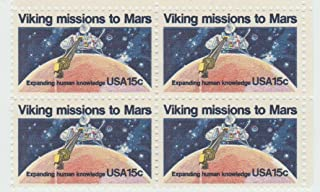 11978 Viking Missions to Mars 15 Cent Stamp, Scott #1759, Set of 4