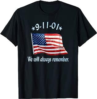 9 11 memorial t shirts