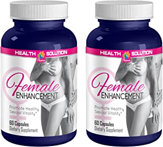 Sexual Enhancement Pills - Female Enhancement 1560MG - Promote Healthy Sexual Vitality - Horny Goat Weed Bulk - 2 Bottles ...