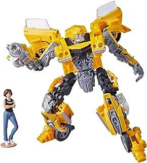 Transformers 2021 Buzzworthy Bumblebee Studio Series #15BB Deluxe Classic Camaro Bumblebee with Charlie Figure