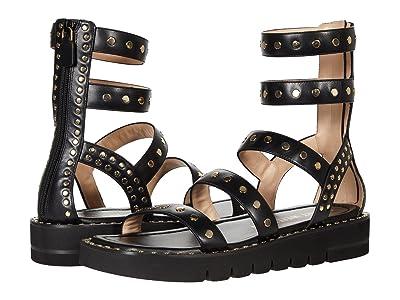 Stuart Weitzman Gala Lift Studs Sandal
